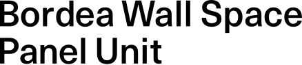 Bordea Wall Space Panel Unit